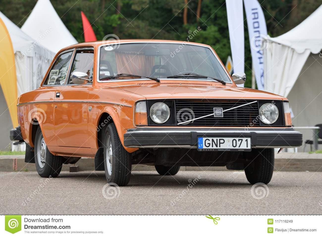 Vintage Volvo Car Editorial Stock Image Image Of Show