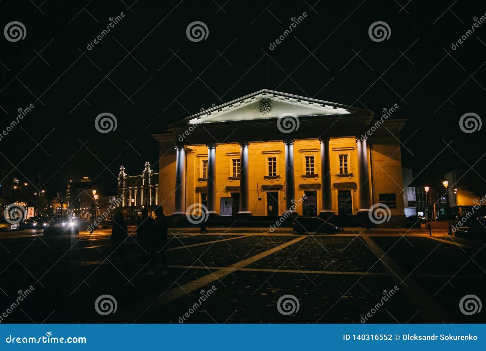 Vilnius, Lituânia: a câmara municipal, Vilniaus lituano