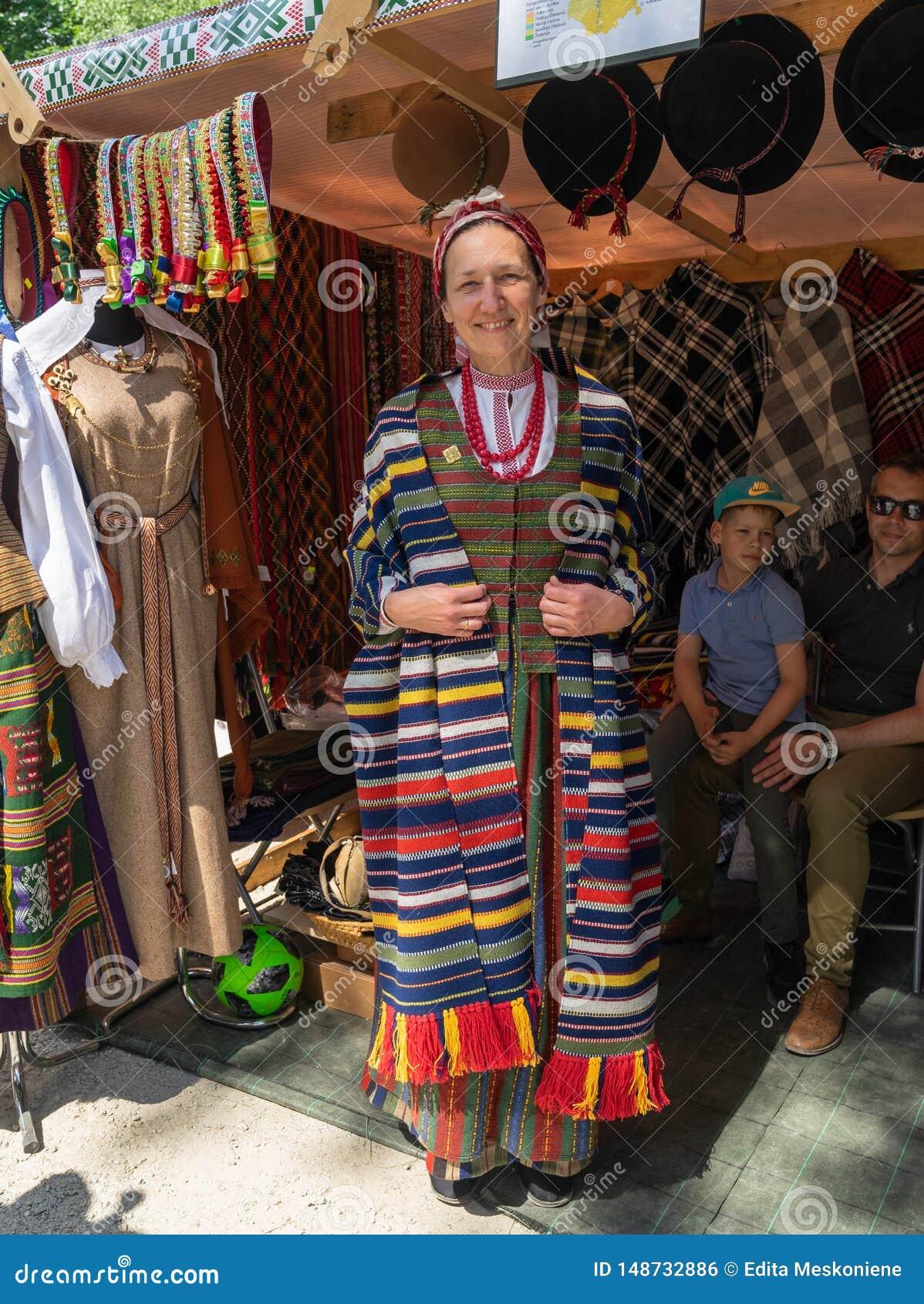 VILNIUS, LITU?NIA - 25 DE MAIO DE 2019: Festival de m?sica folk anual SKAMBA SKAMBA KANKLIAI