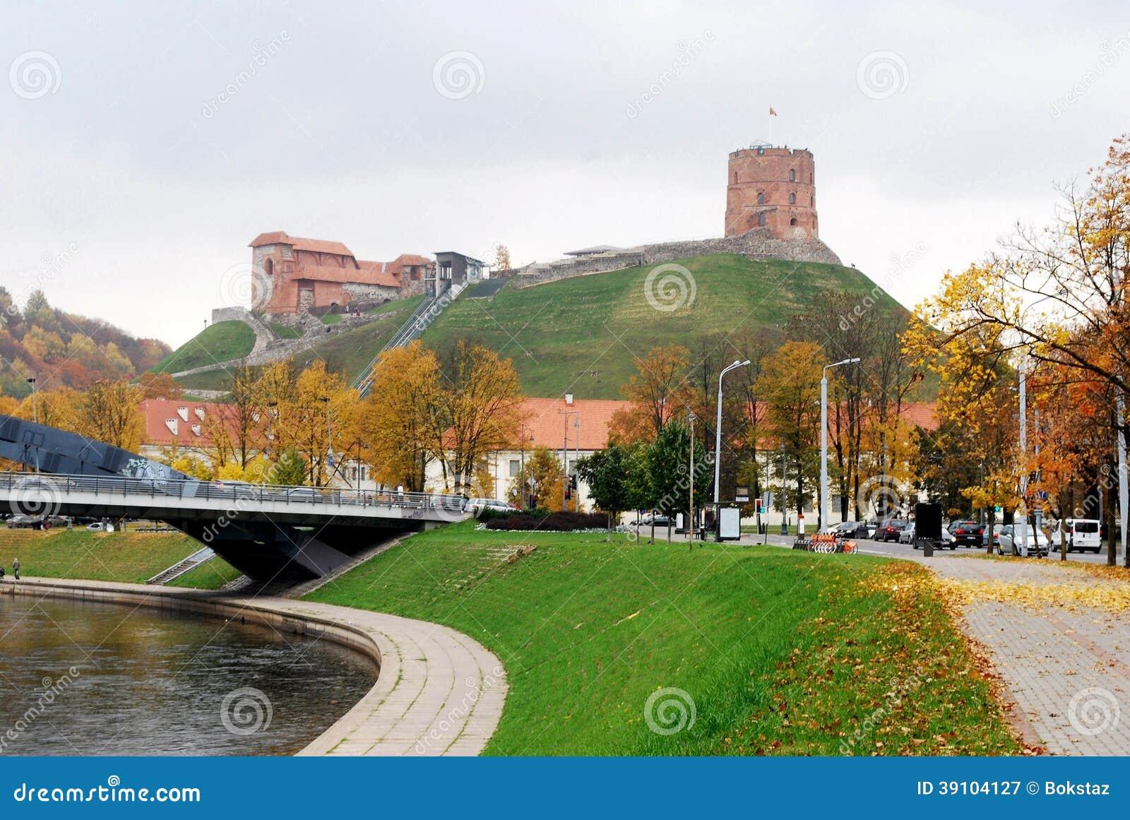 Vilnius, Toren van Gediminas, symbool van Vilnius