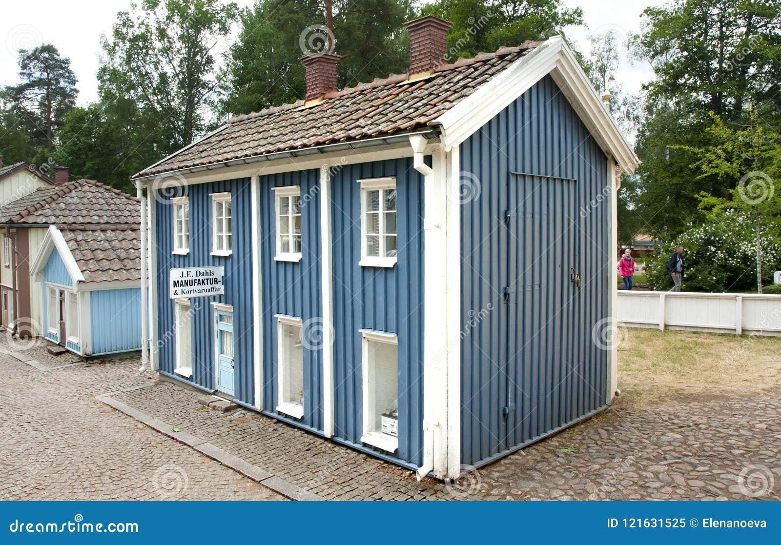 VIMMERBY SVERIGE - Juni 19, 2018 - världen för Astrid Lindgren ` s, Astrid Lindgrens Varld är ett nöjesfält