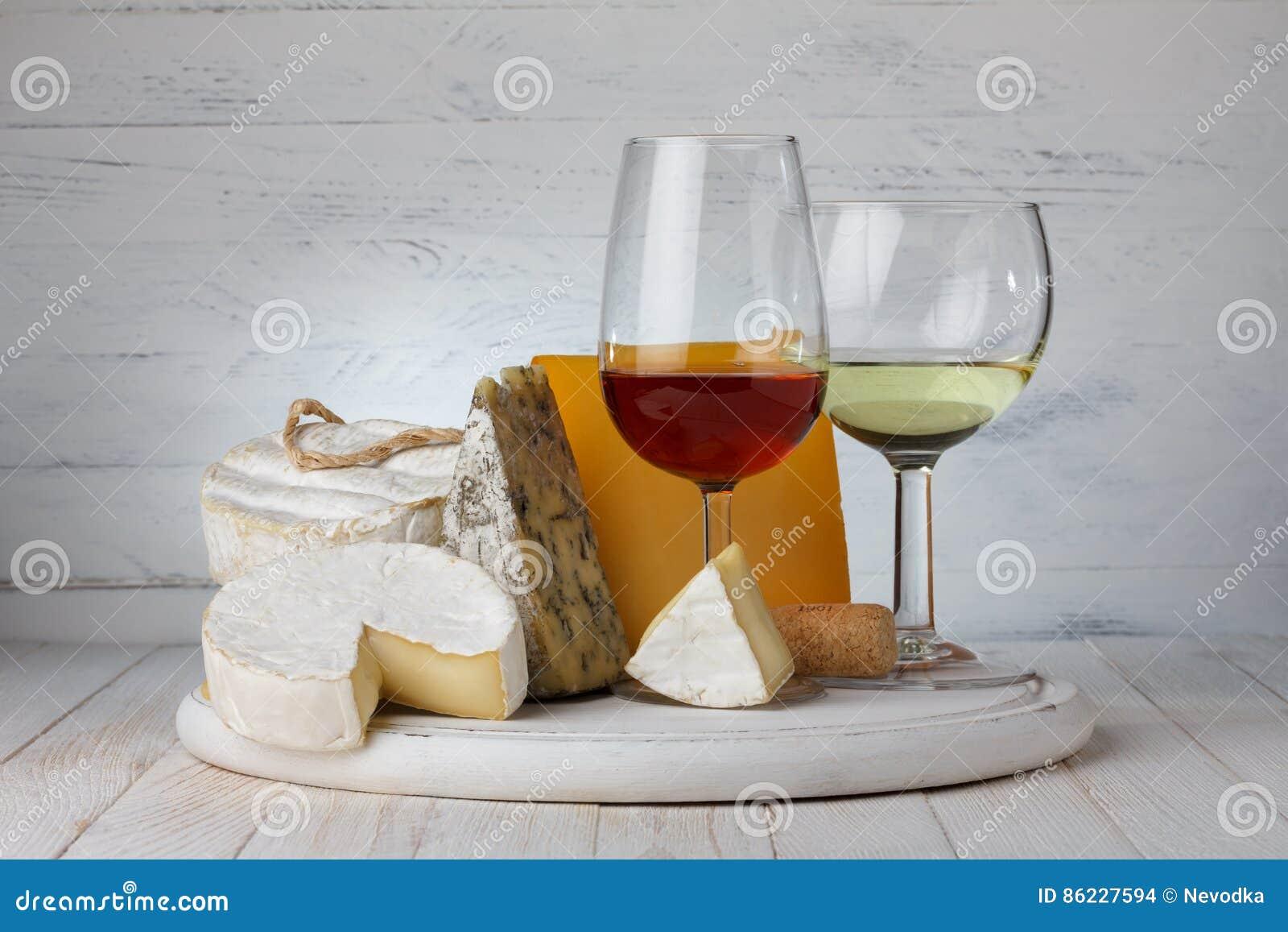 Vin med ost