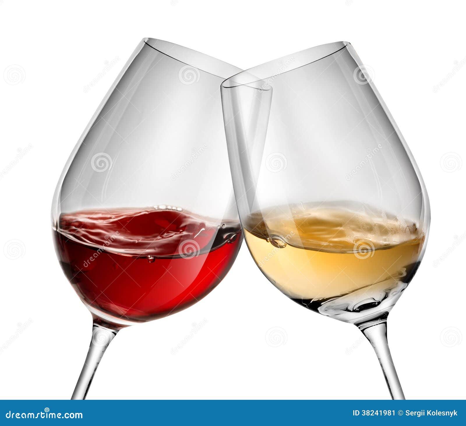 vin mobile dans des deux verres vin image stock image. Black Bedroom Furniture Sets. Home Design Ideas