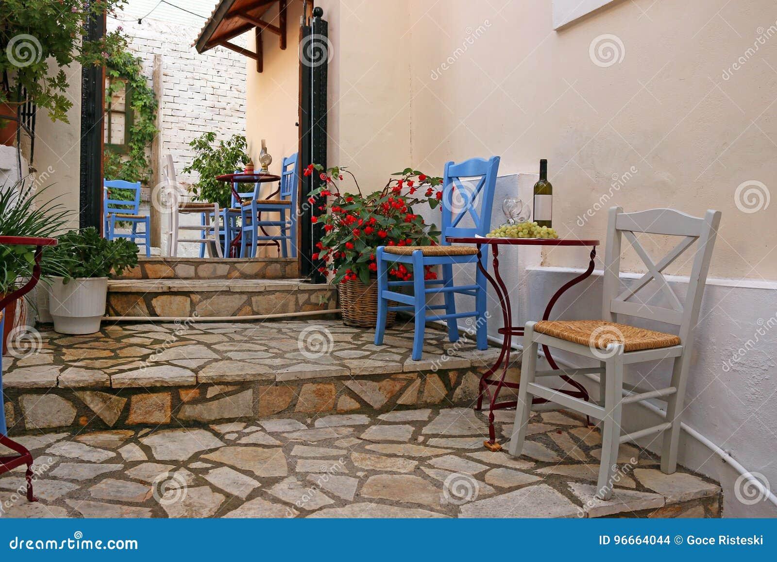 Vin och druvor på tabellen Parga