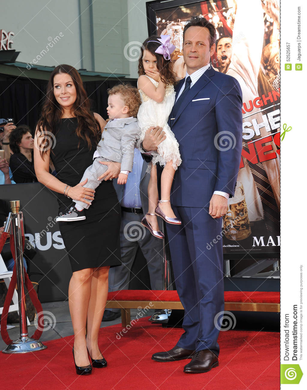 Vince Vaughn Kyla Weber >> Vince Vaughn Kyla Weber Editorial Photography Image Of