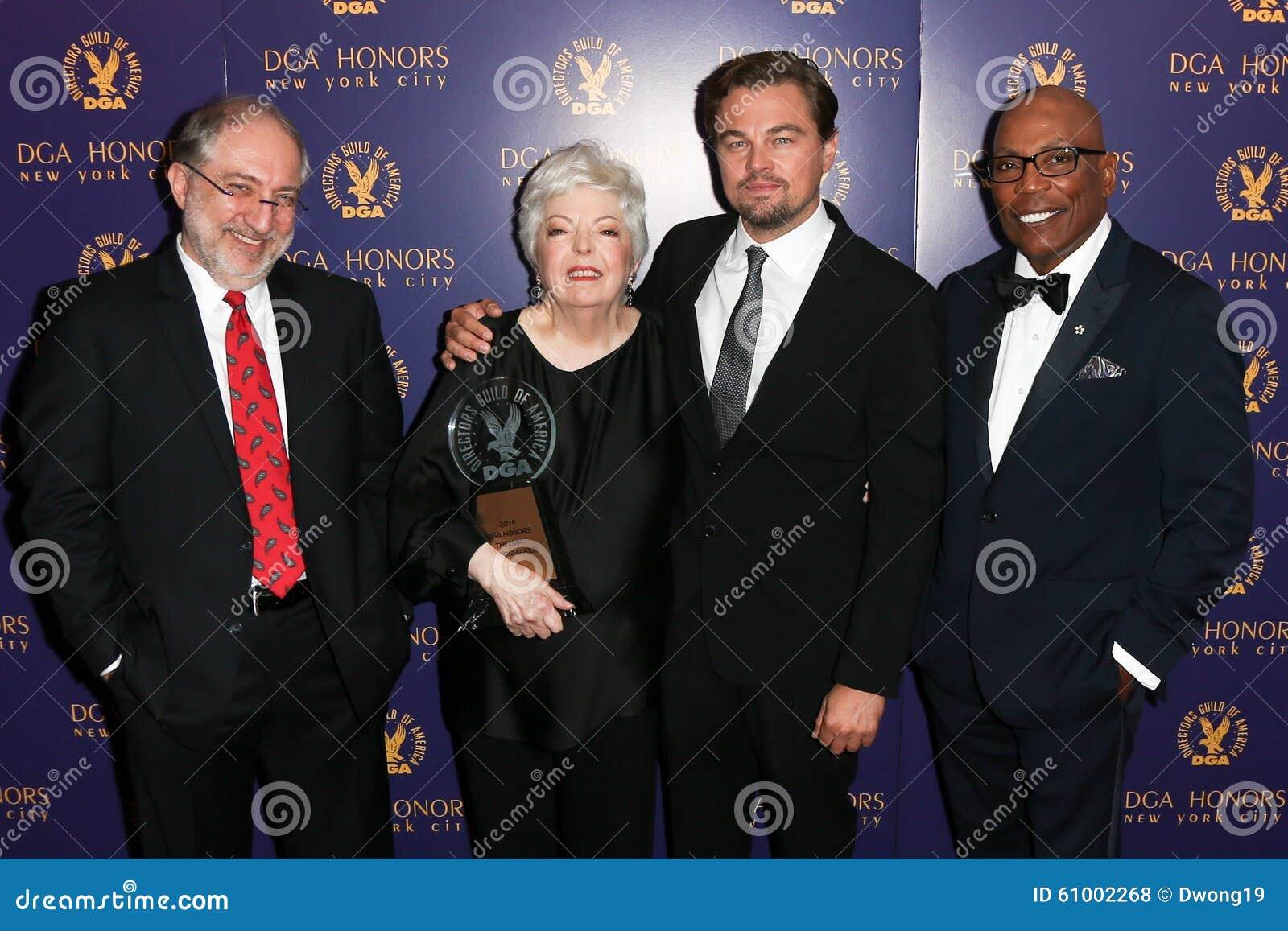 Vincent Misiano, Thelma Schoonmaker, Leonardo DiCaprio, Paris Barclay