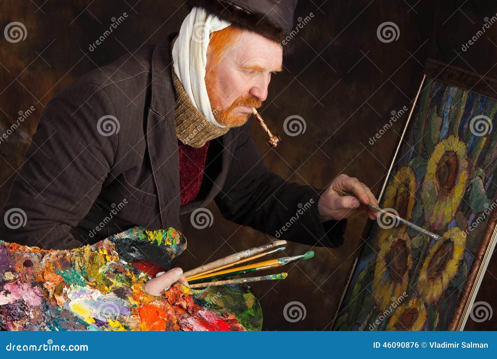 Vincent van Gogh-portret van toewijding