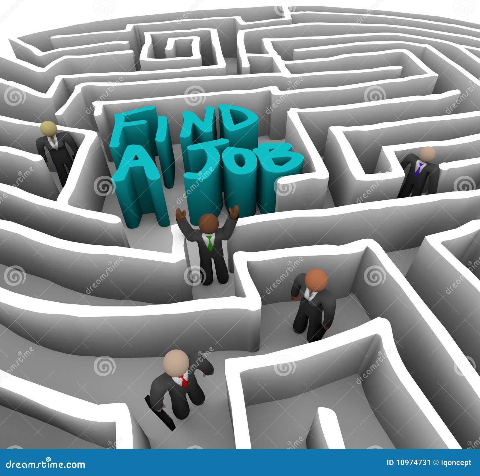 Vind een Baan - BedrijfsMensen in Labyrint