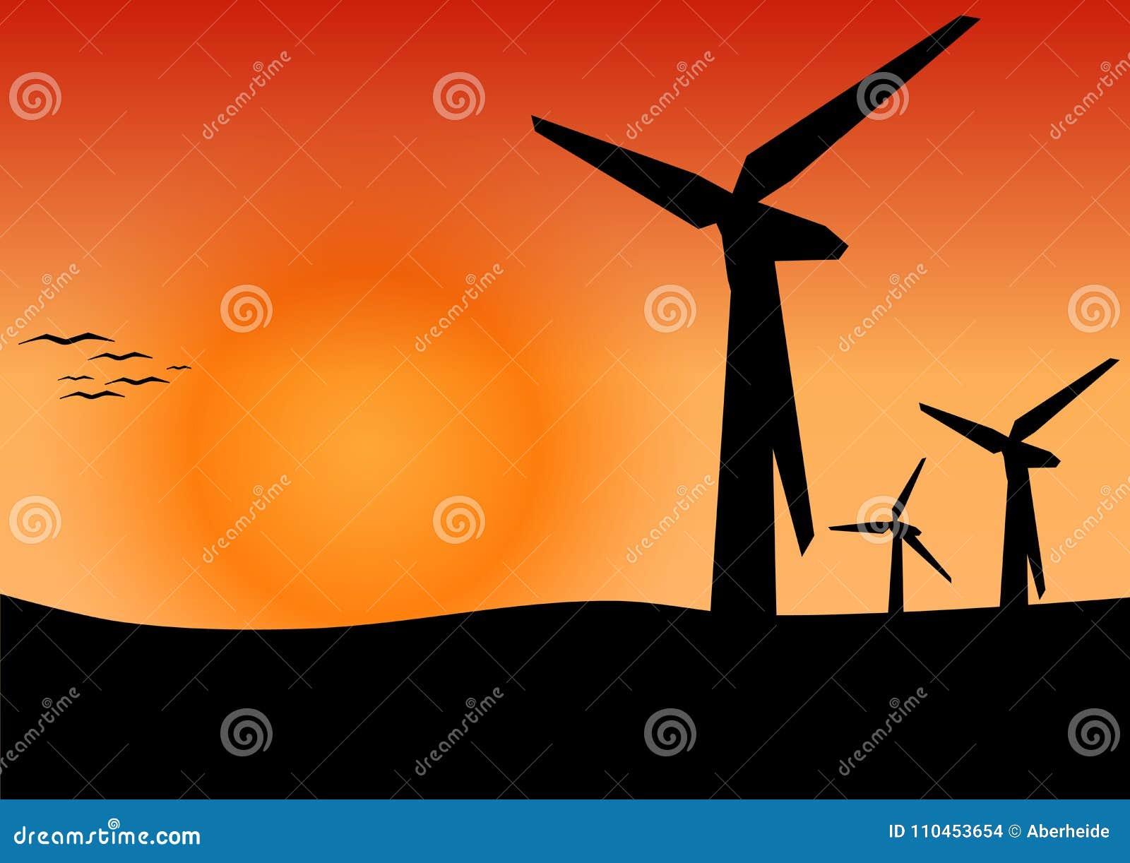 Vindenergi, begrepp för alternativ energi