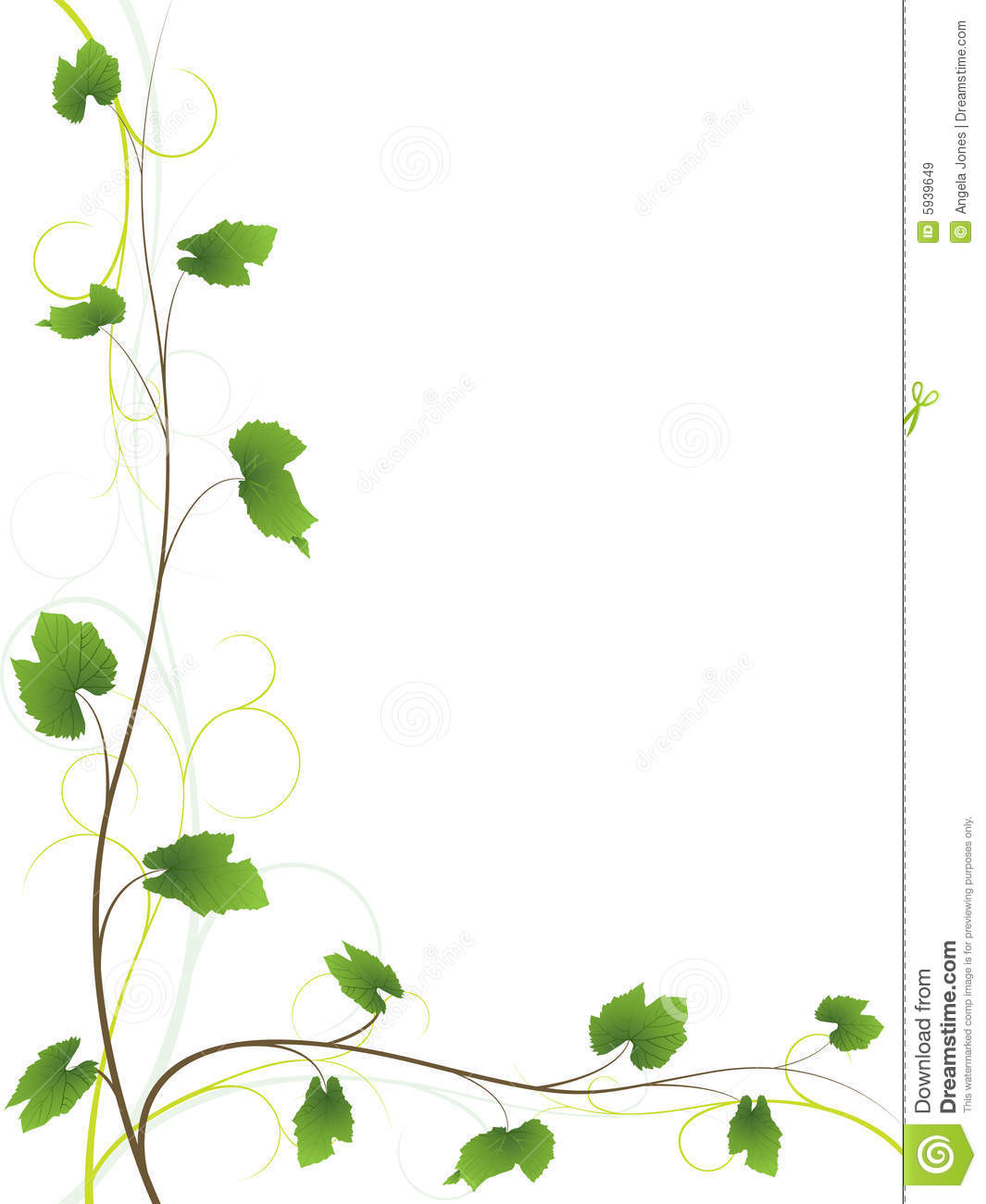 Vine Floral Background...