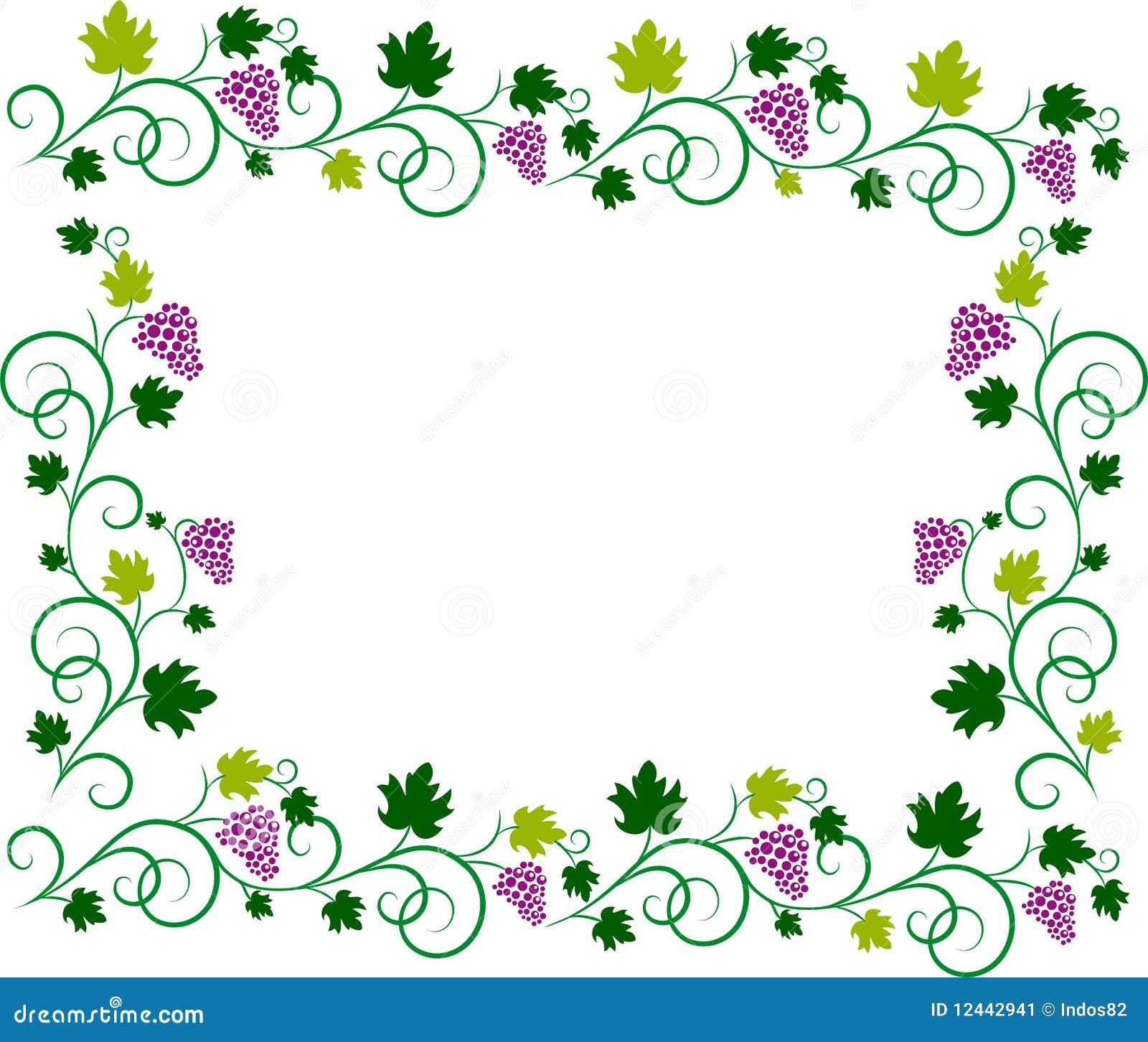Vine Frame Stock Image - Image: 12442941 Flower Vine Clipart