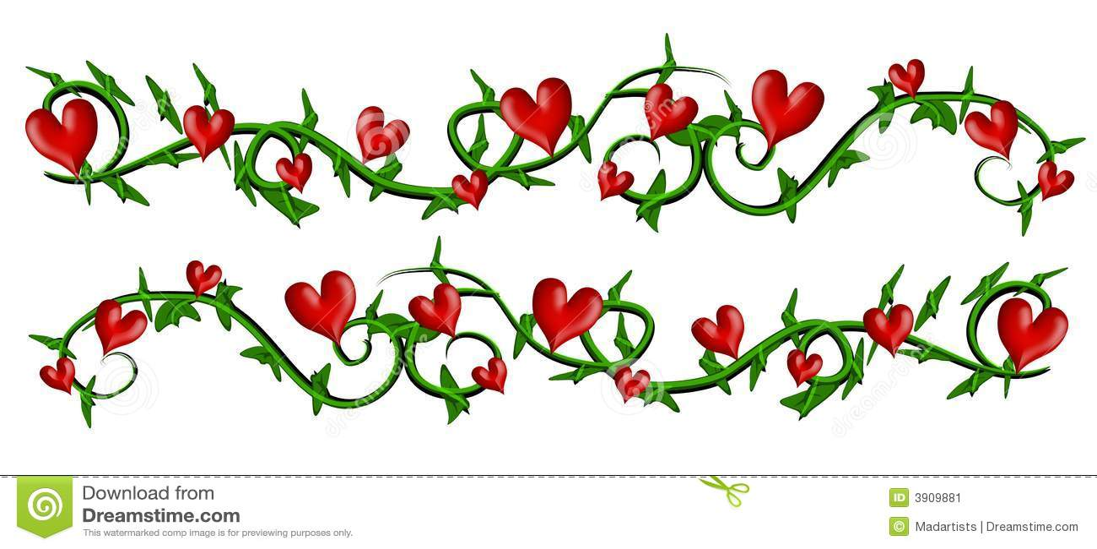 Free Valentine Clip Art Border
