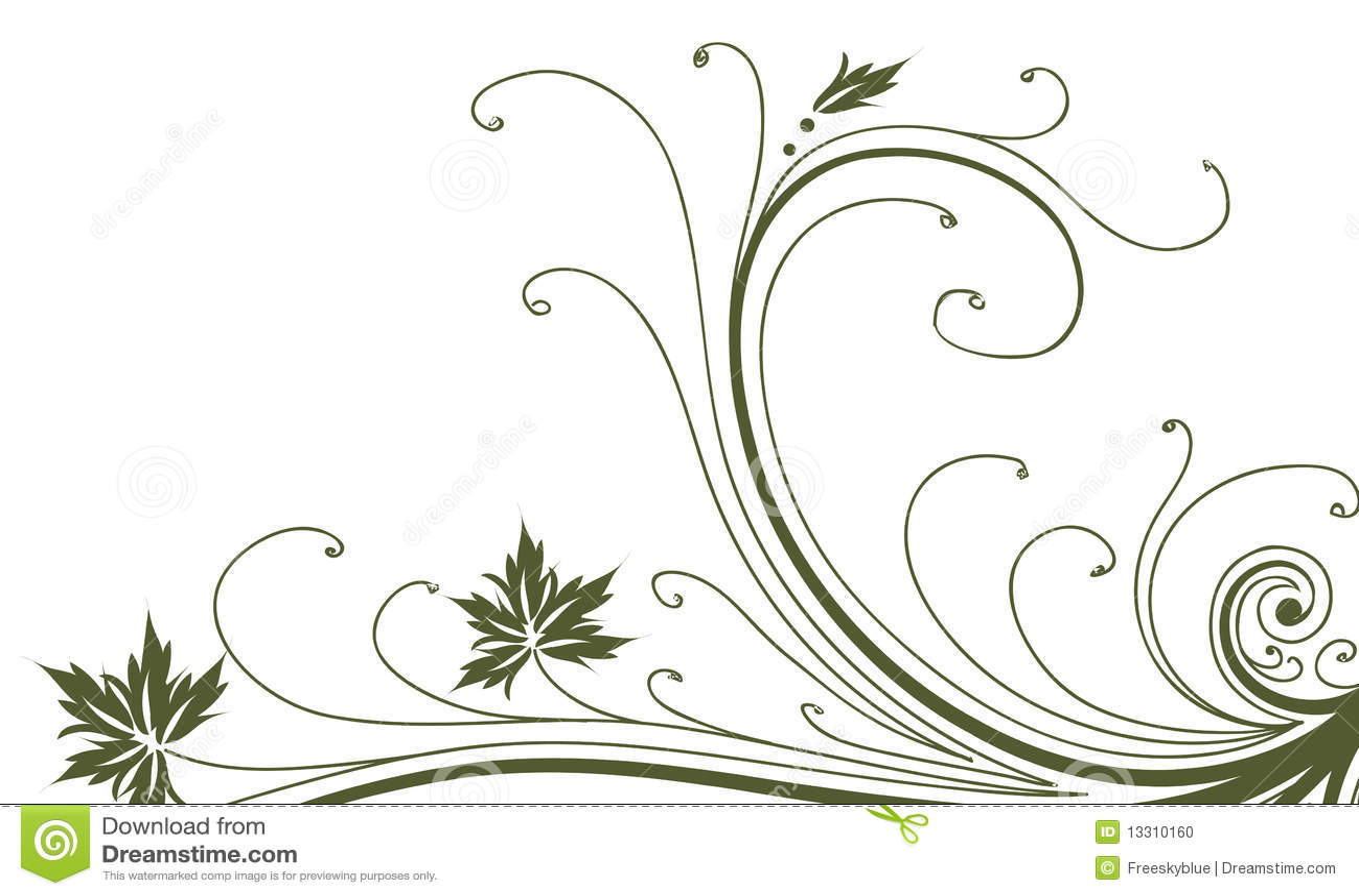 7c731df80 Vines and leaves pattern stock illustration. Illustration of artwork ...