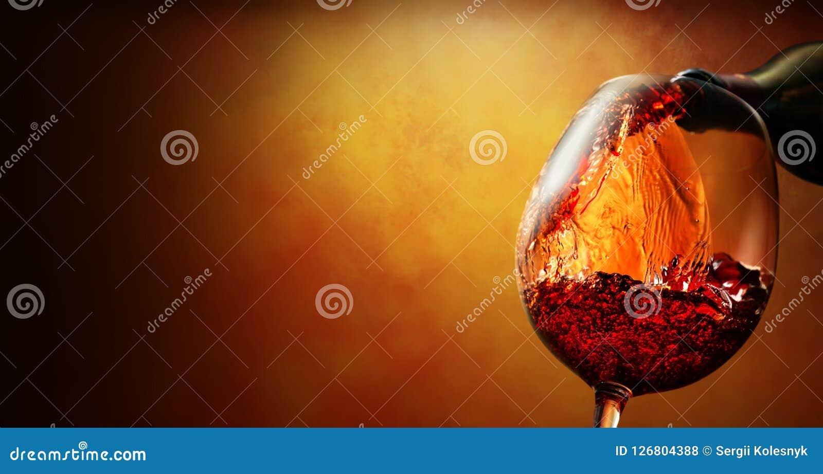 Vinglas med vin