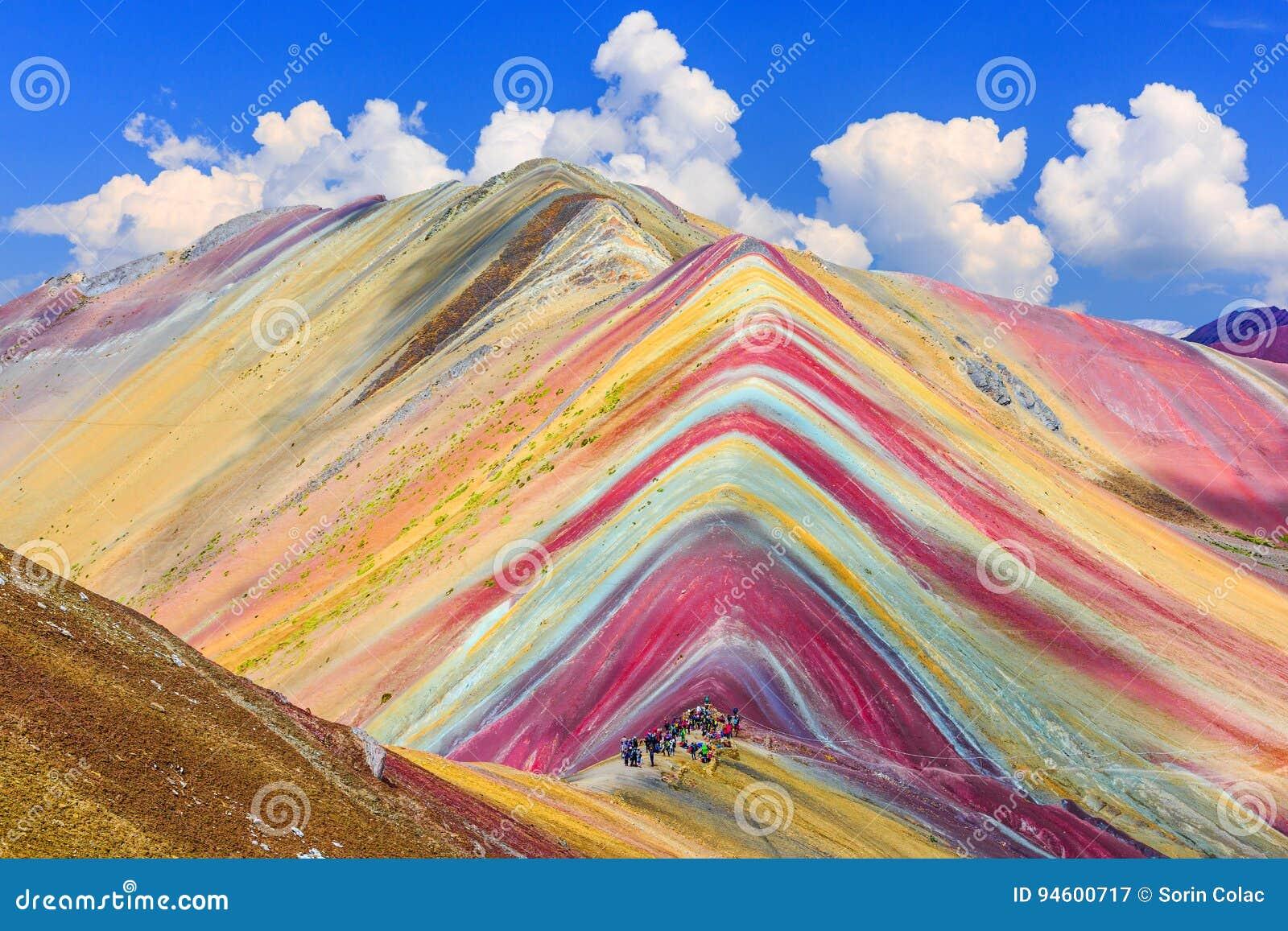 Vinicunca, région de Cusco, Pérou
