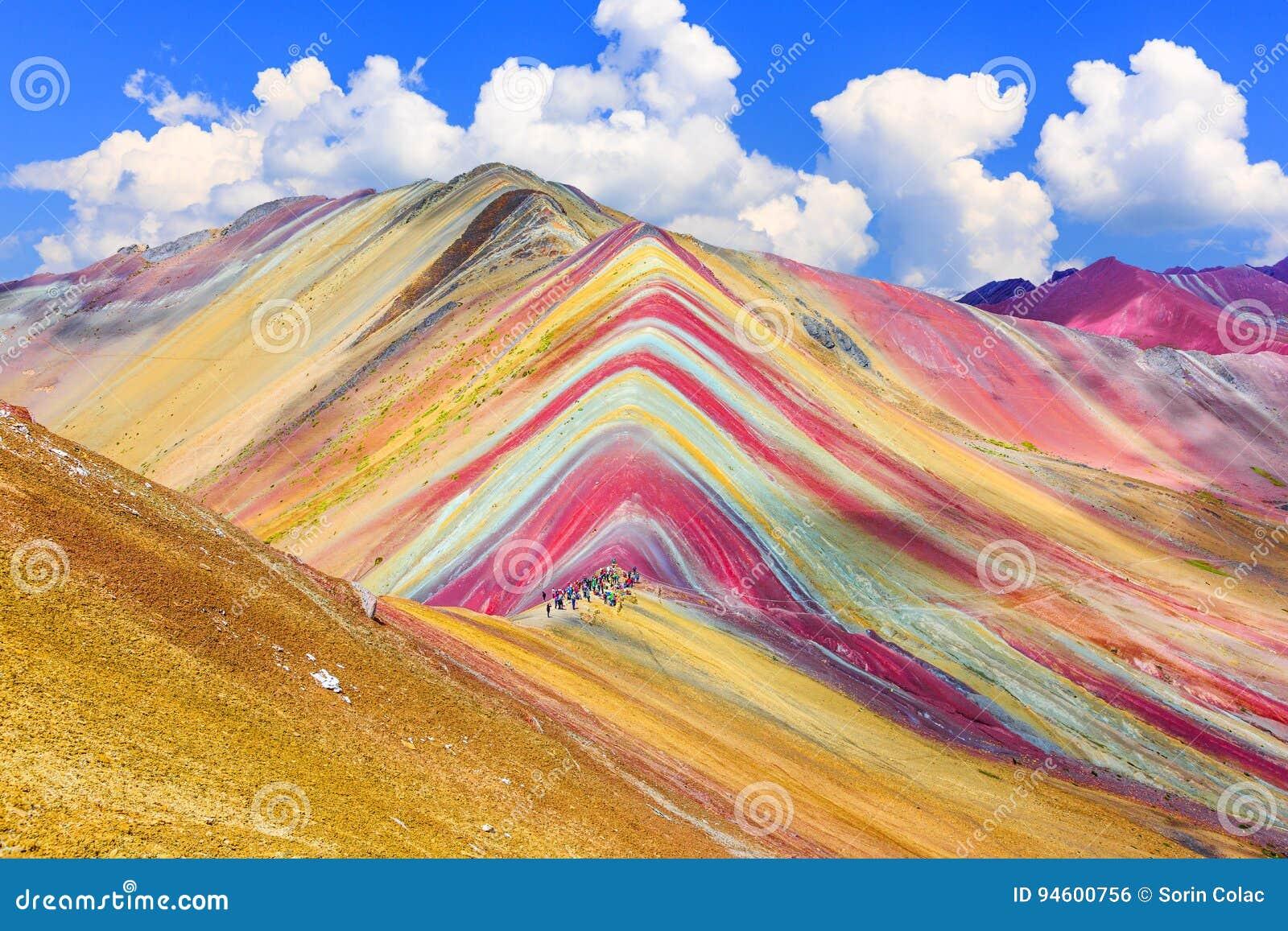 Vinicunca, região de Cusco, Peru