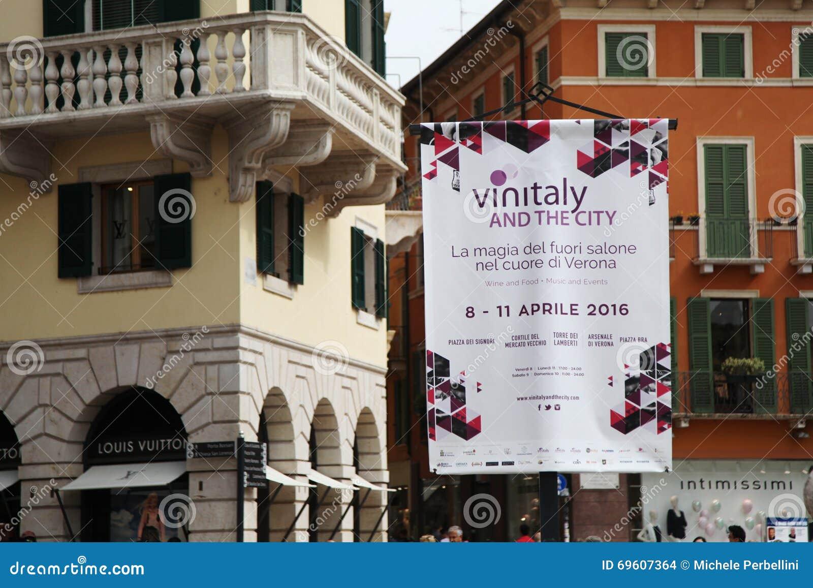 50. Vinitaly-Weinausstellungen in Verona - Italien