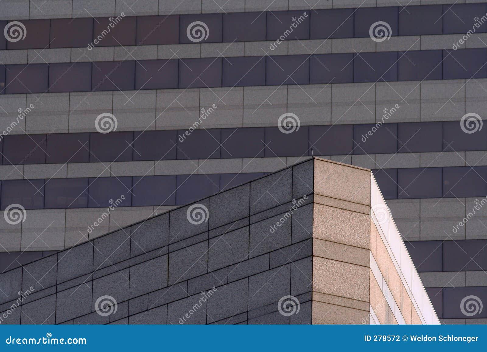 Vinkelformig byggnad