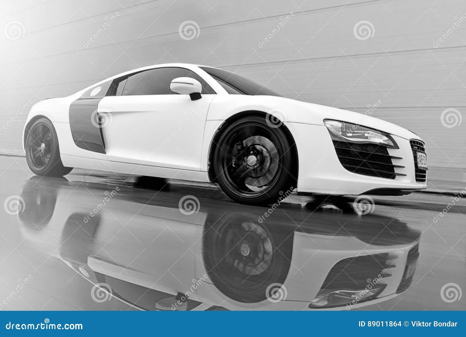 Vinnitsa, Ukraine   November 11, 2012.Audi R8 Concept Car.Audi S