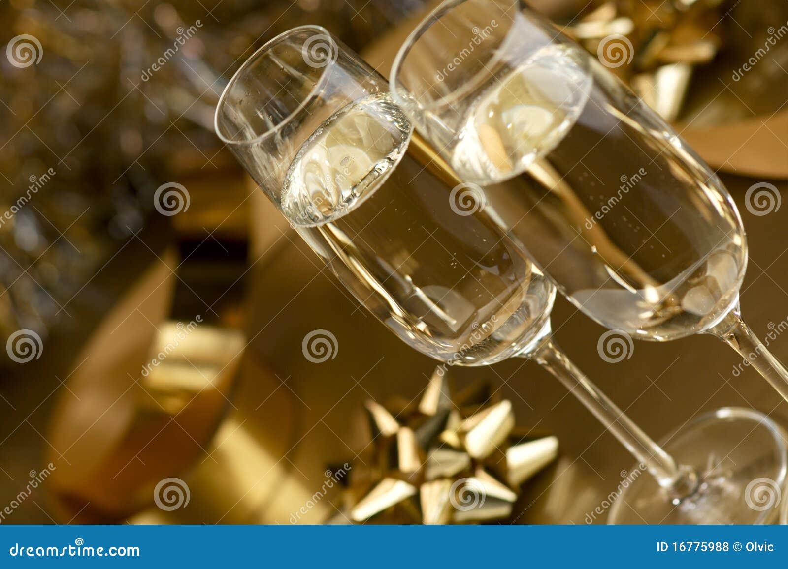 Vino. Champagne