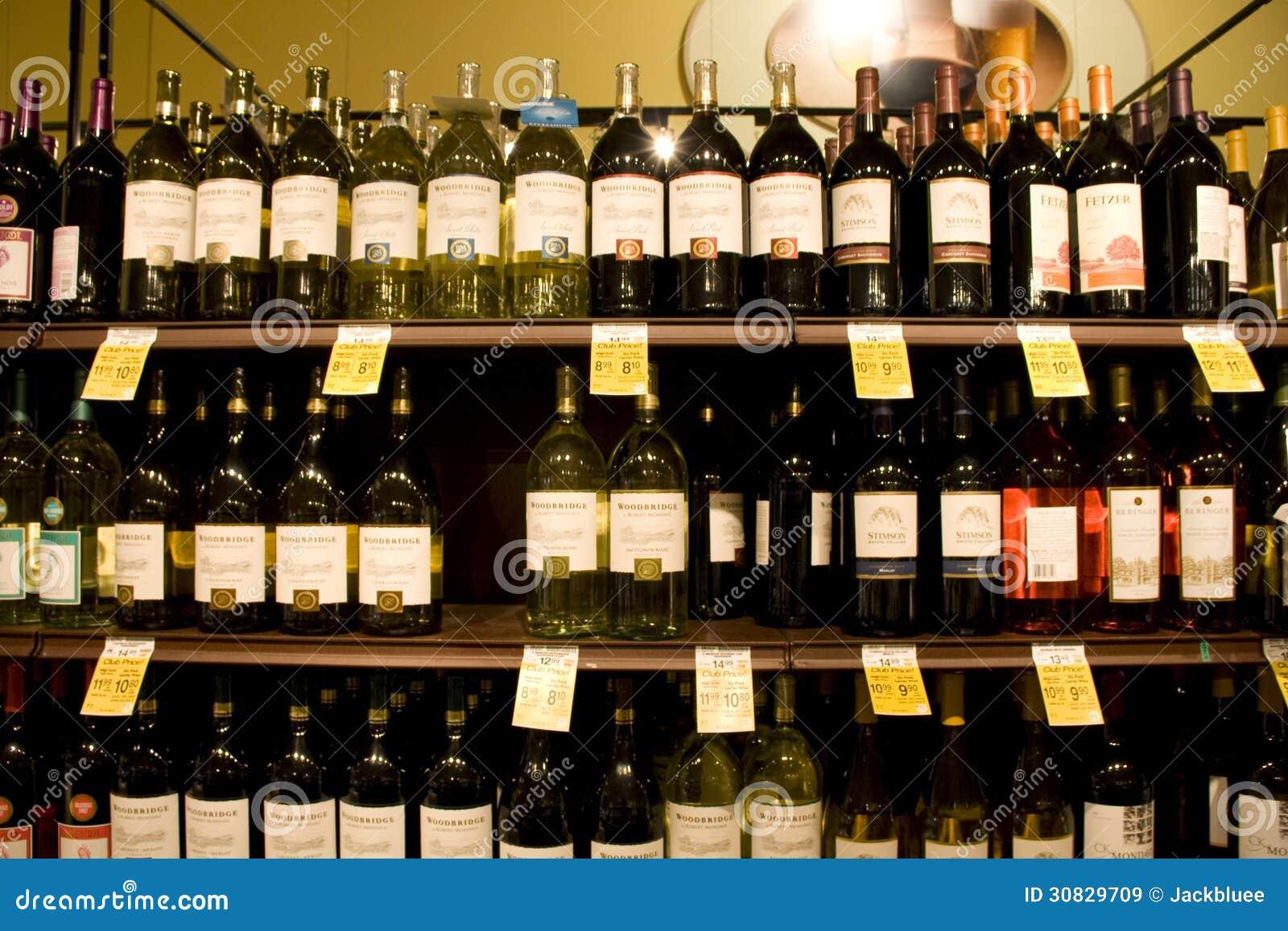Vino, liquore, bevande, deposito dell alcool