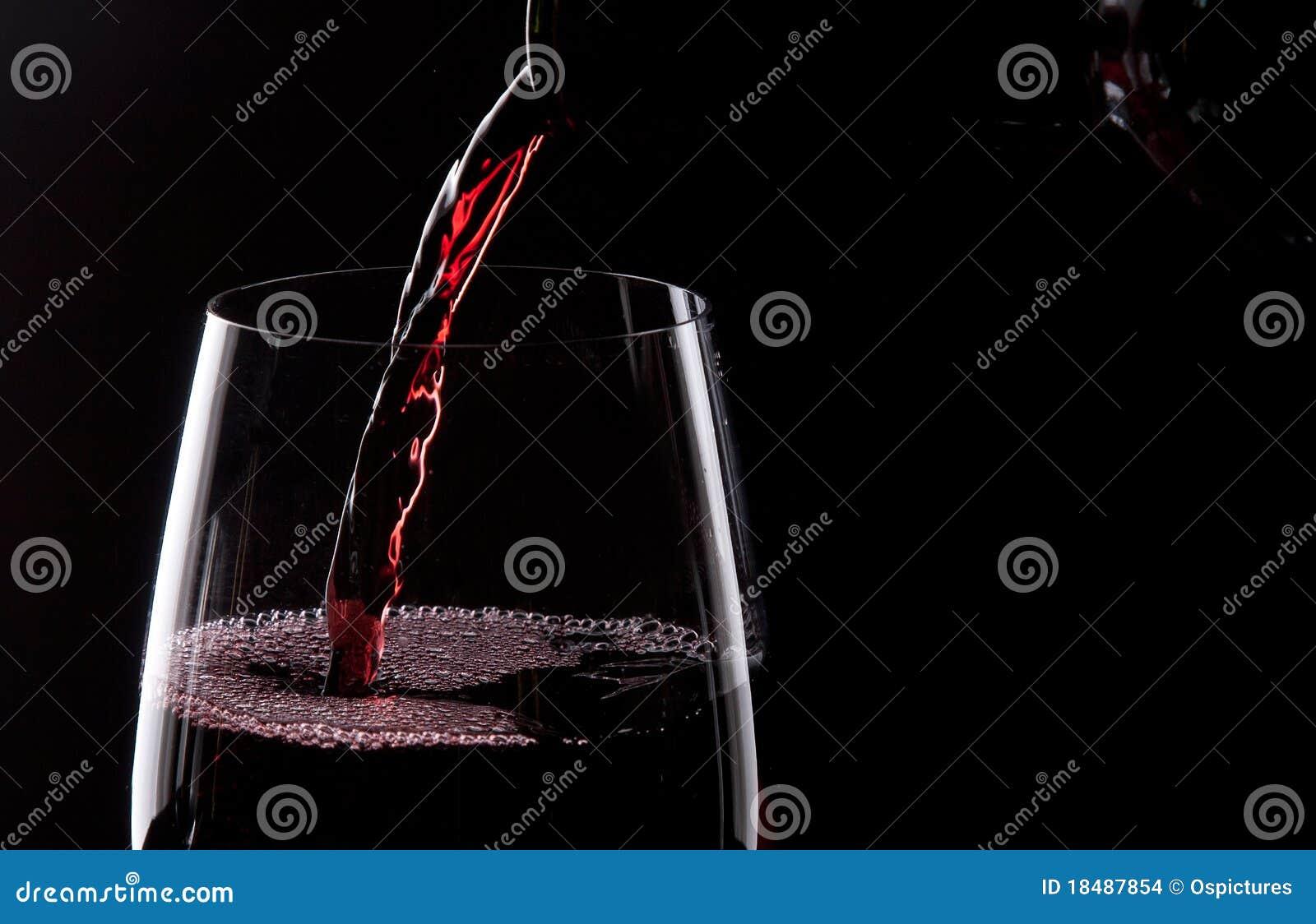 Vino rojo de colada