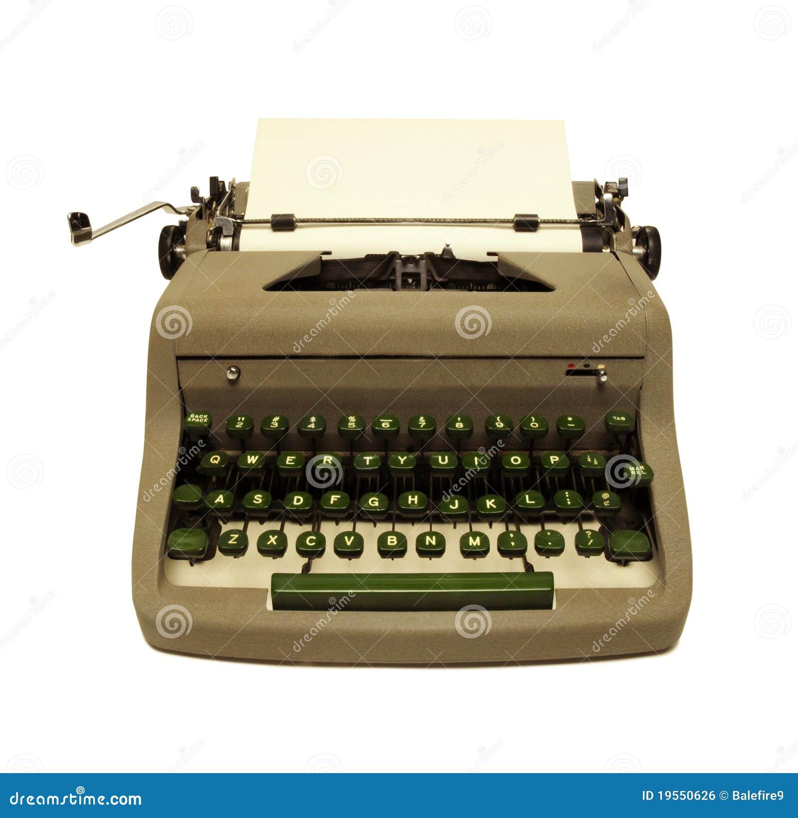 vintage-1950s-typewriter-white-19550626.