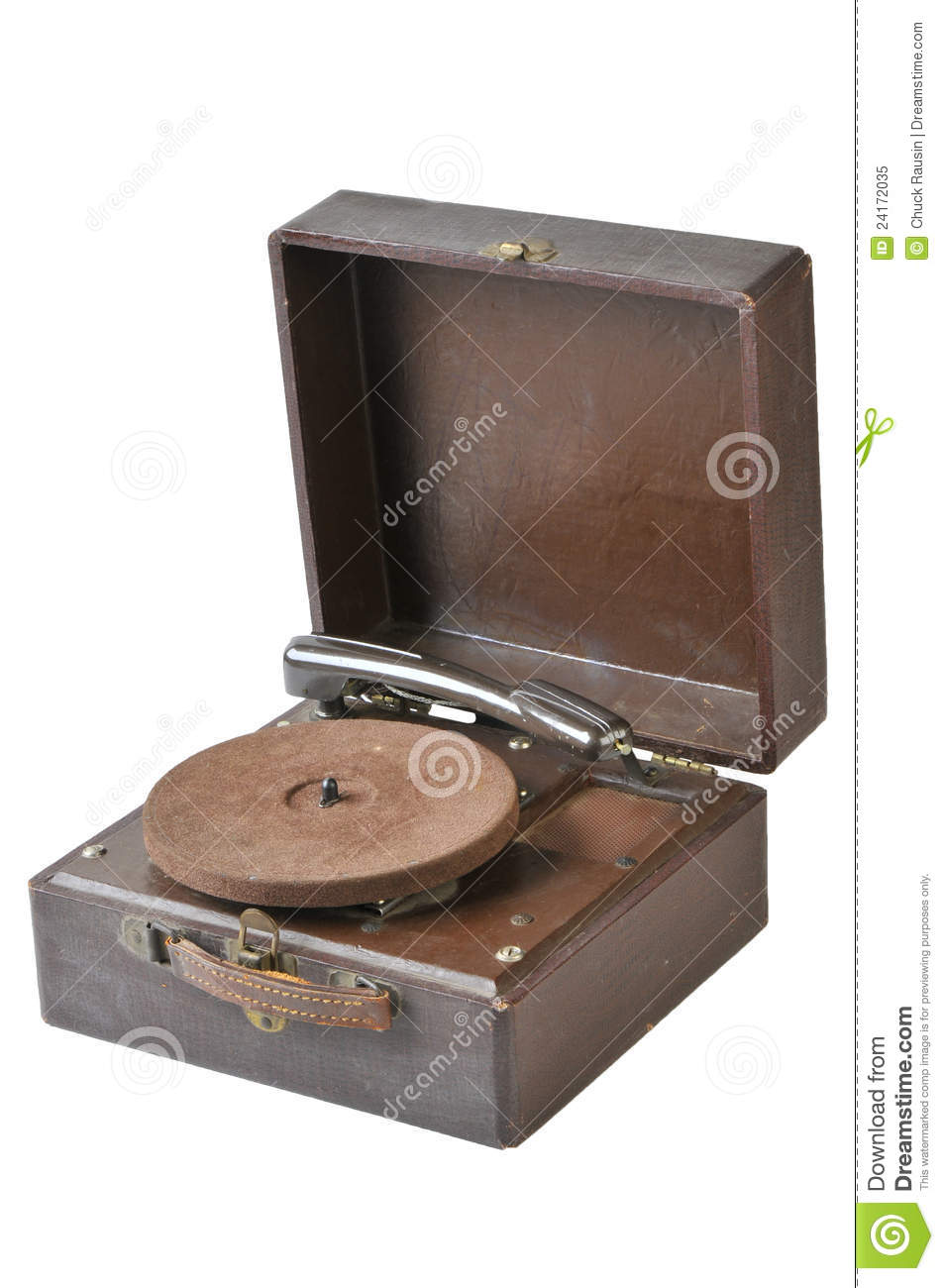 Vintage 45 Record Player Royalty Free Stock Photo Image