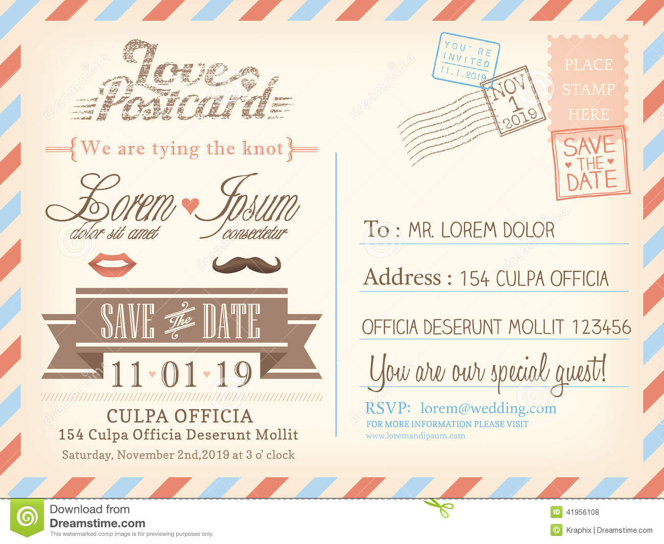 Postcard invitation templates free selol ink postcard invitation templates free stopboris Images