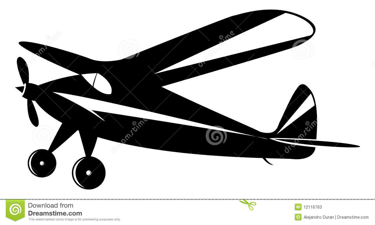 vintage airplane stock vector image of army  aircraft plane vector intersection plane vectors to the initial