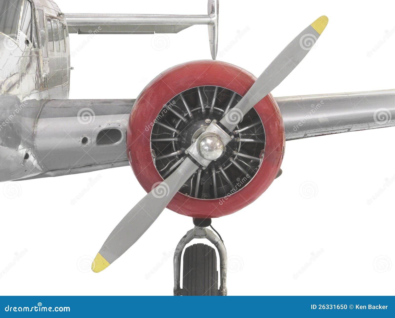 3e423812177e Vintage Airplane Engine
