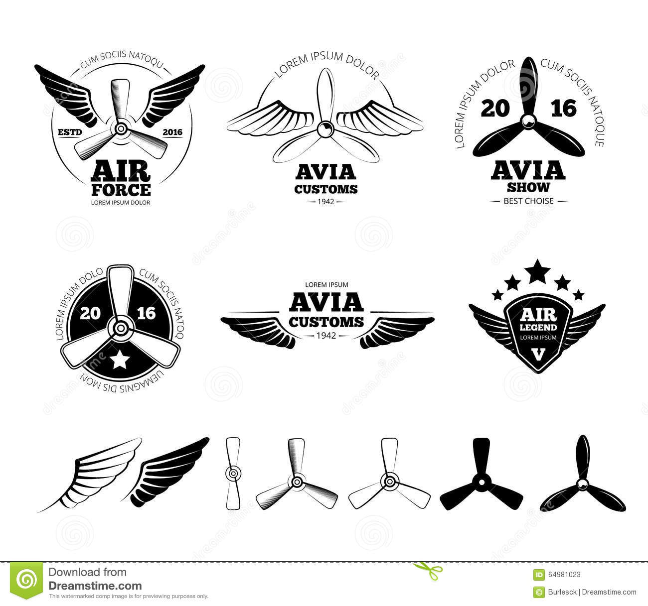 car and airplane wall decor