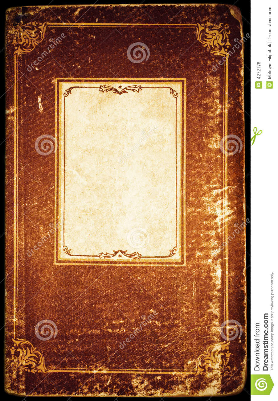 Vintage Album Page Isolated Stock Photo Image Of Paper
