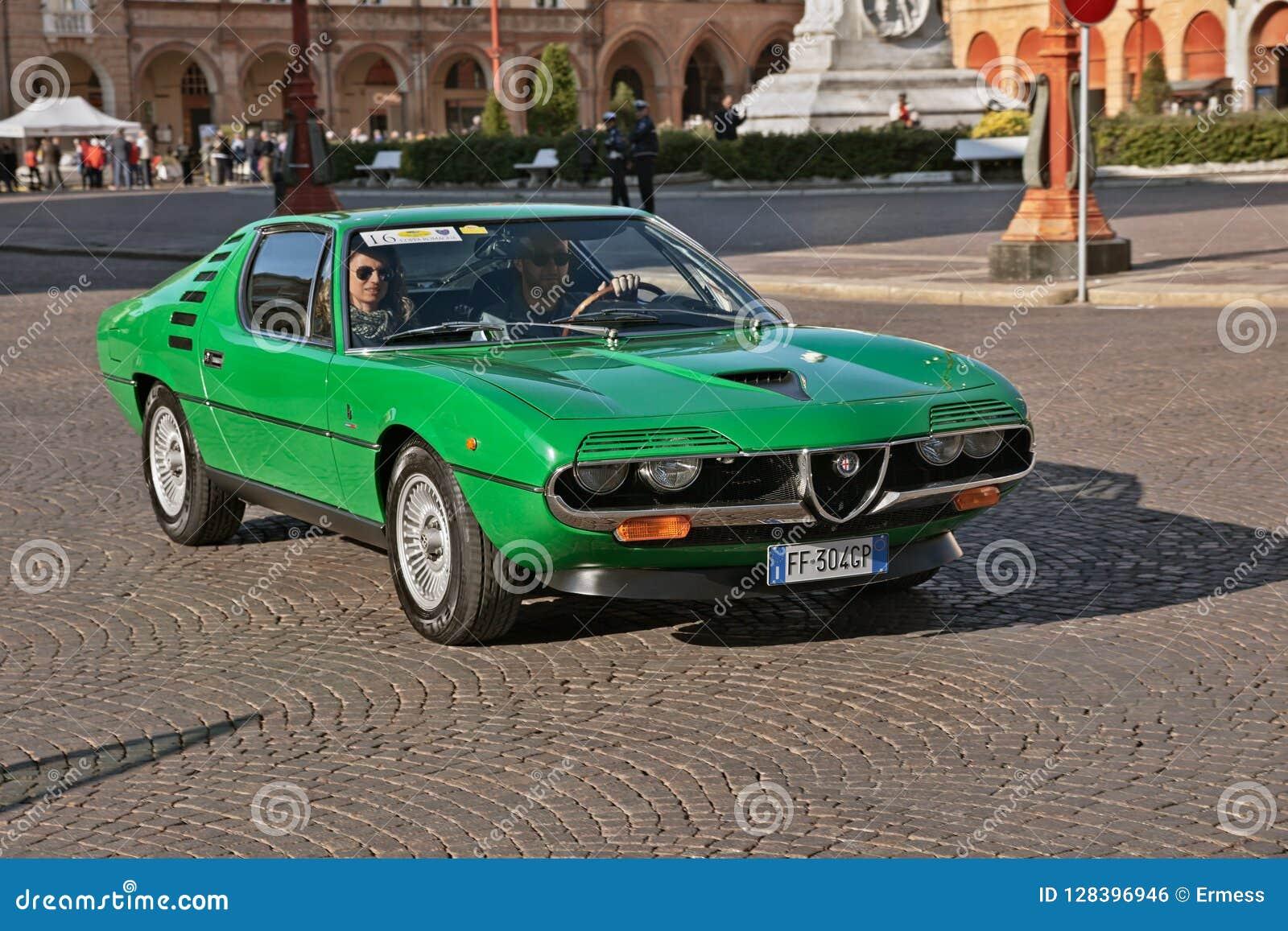 Vintage Alfa Romeo >> Vintage Alfa Romeo Montreal 1972 Editorial Photo Image Of