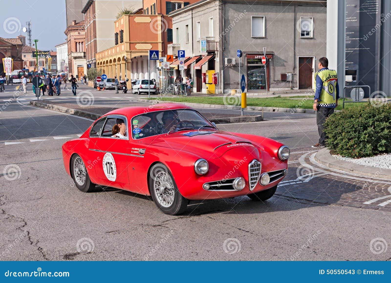 Vintage Alfa Romeo Ssz Zagato Editorial Stock Photo