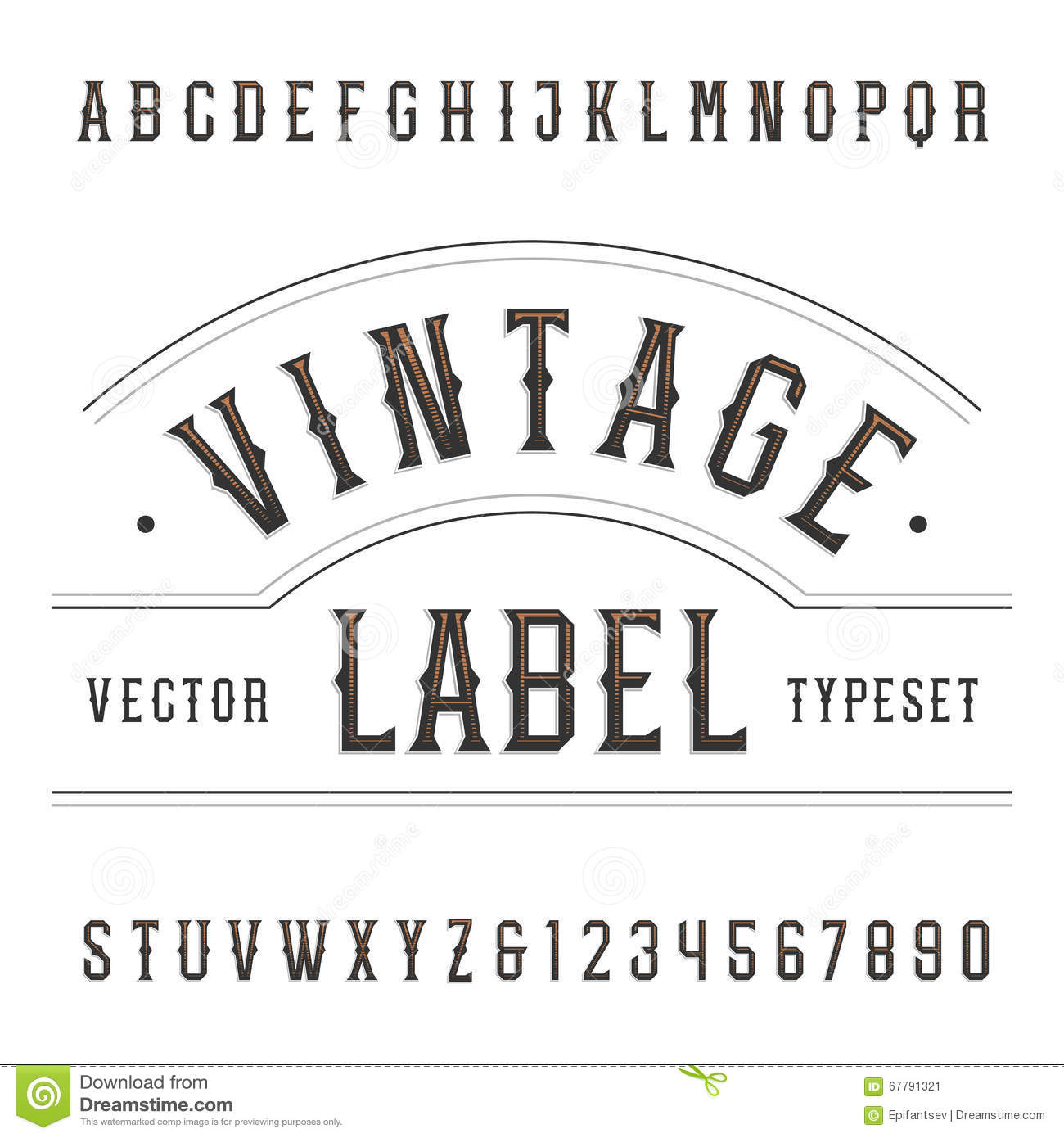 Vintage font numbers wroc awski informator internetowy for Classic house number fonts