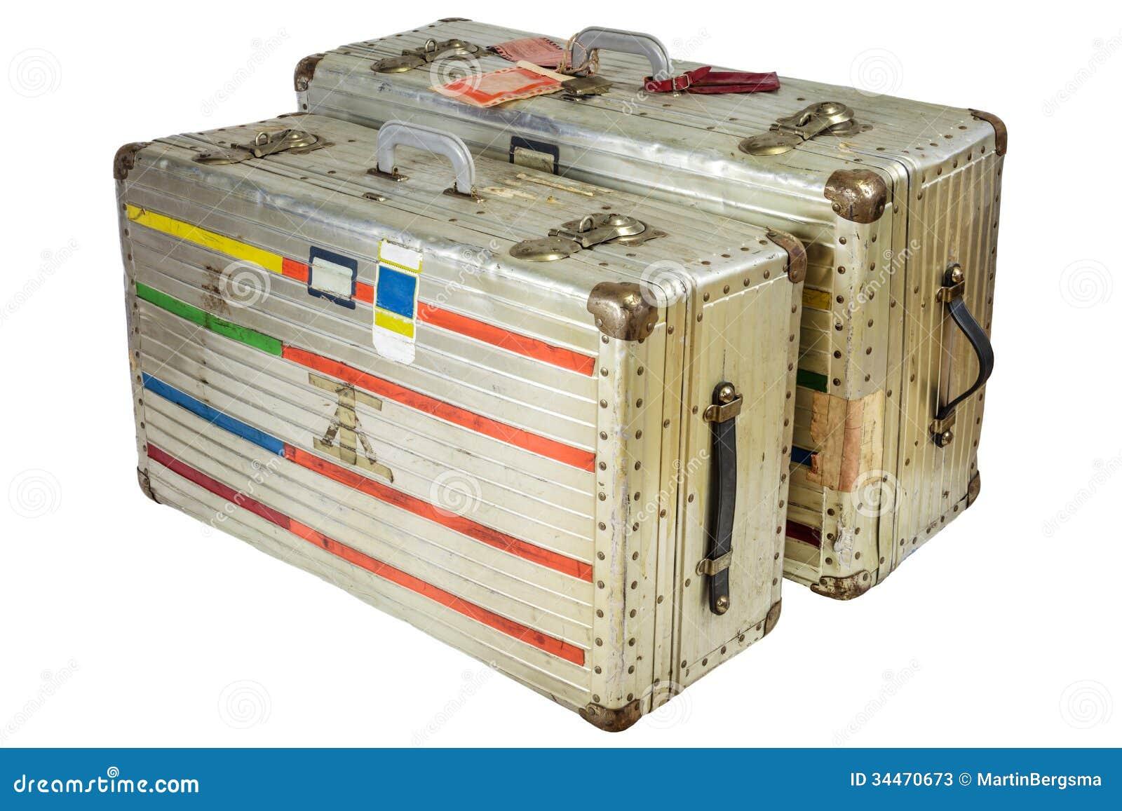 Vintage Aluminium Suitcase | Luggage And Suitcases