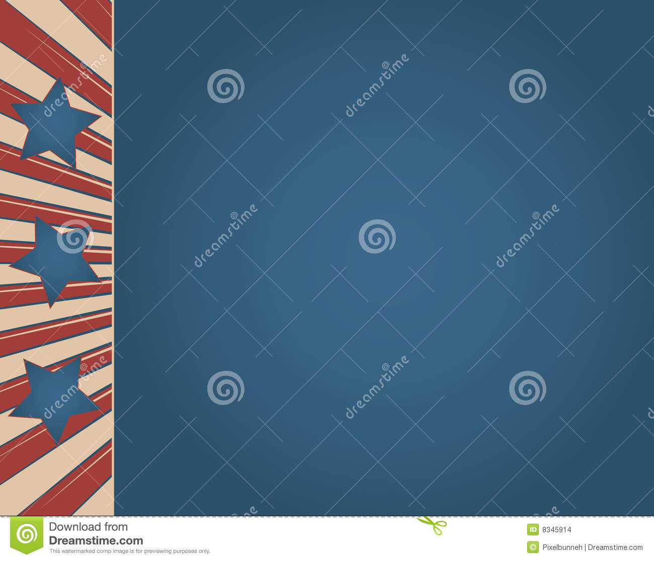 Vintage Americana Background Vintage american flag signVintage Americana Background