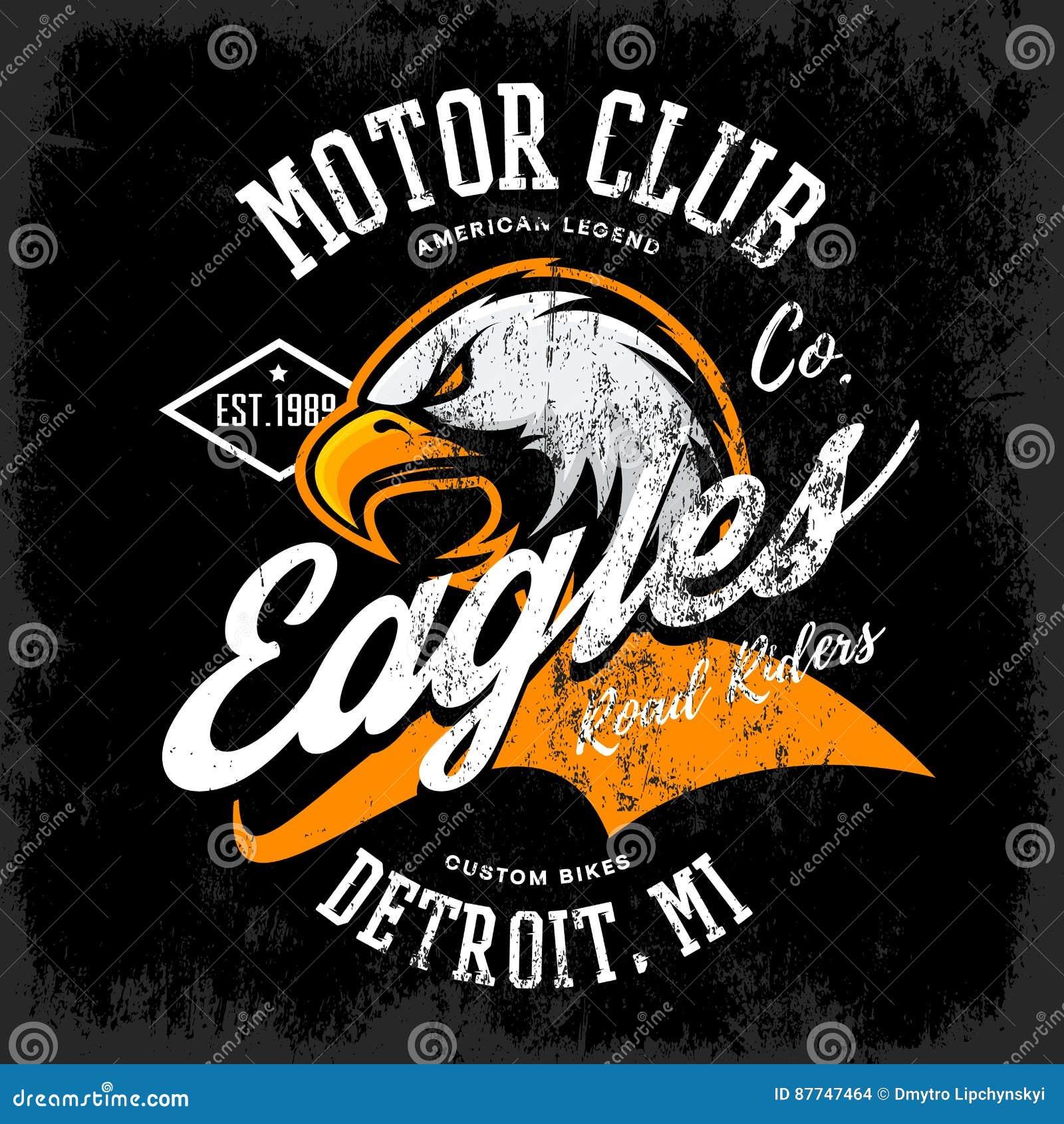 Logo Motor Club Vector Illustration