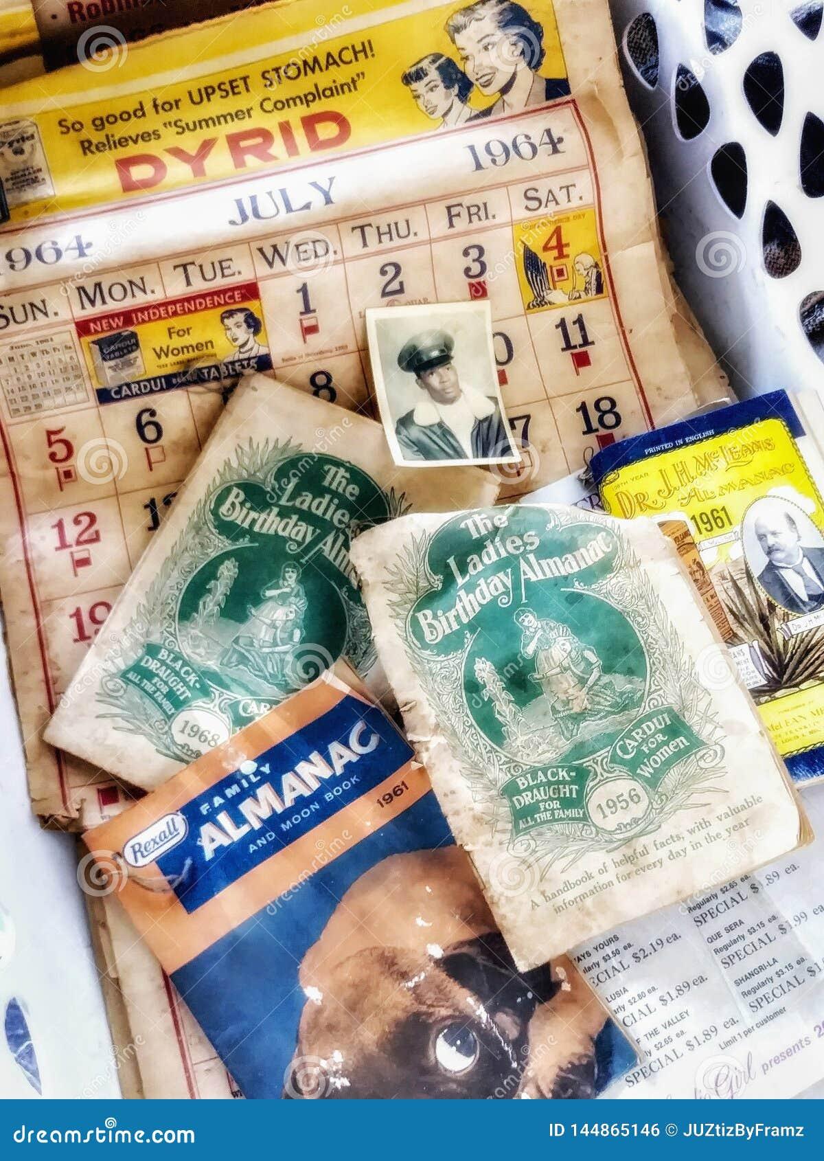 Calendario 1951.Vintage Antiguo 1951 1968 Anuncios Publicitarios Y