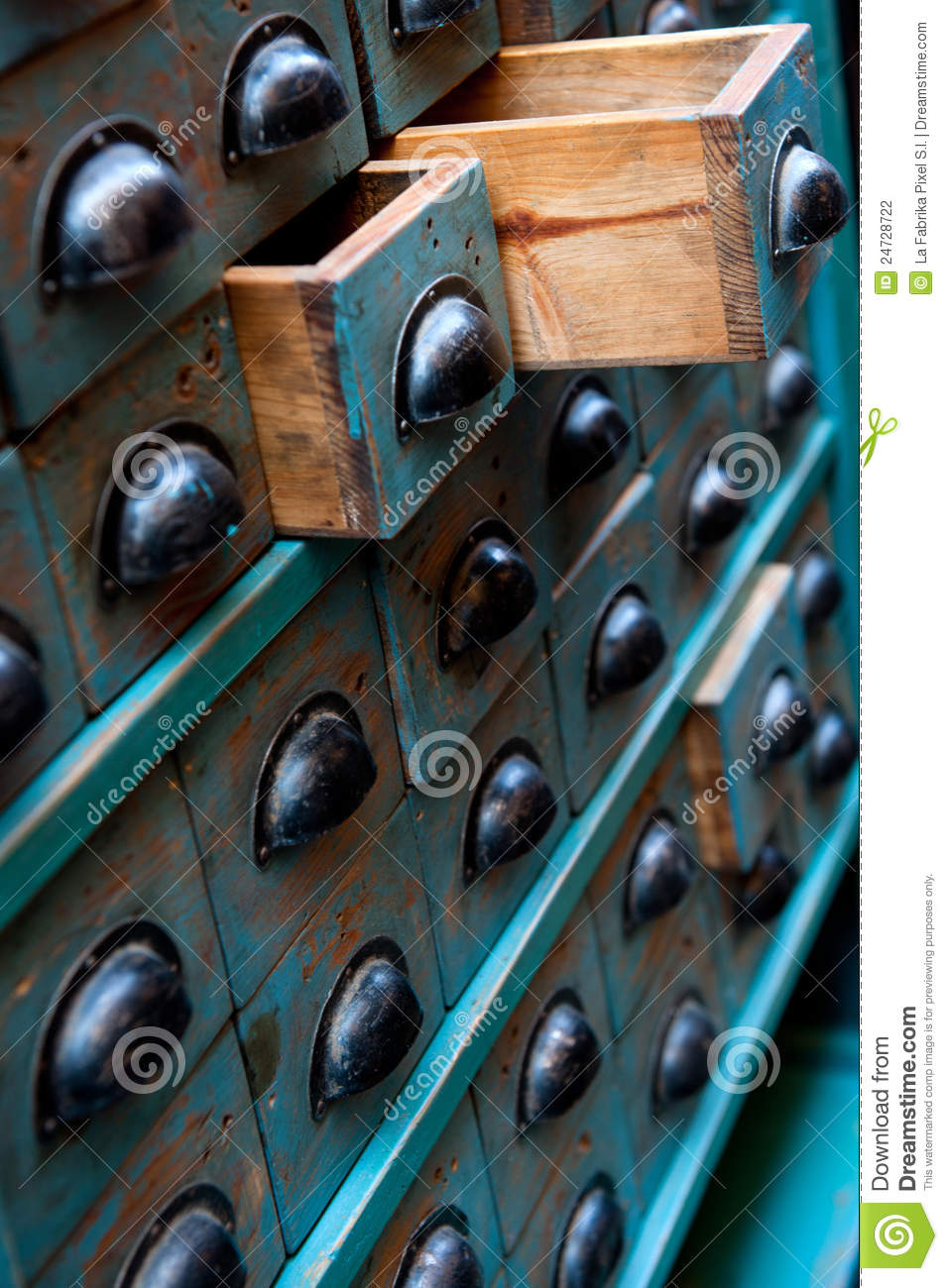 Antique Apothecary Cabinet Vintage Apothecary Chest Stock Photography Image 24728722