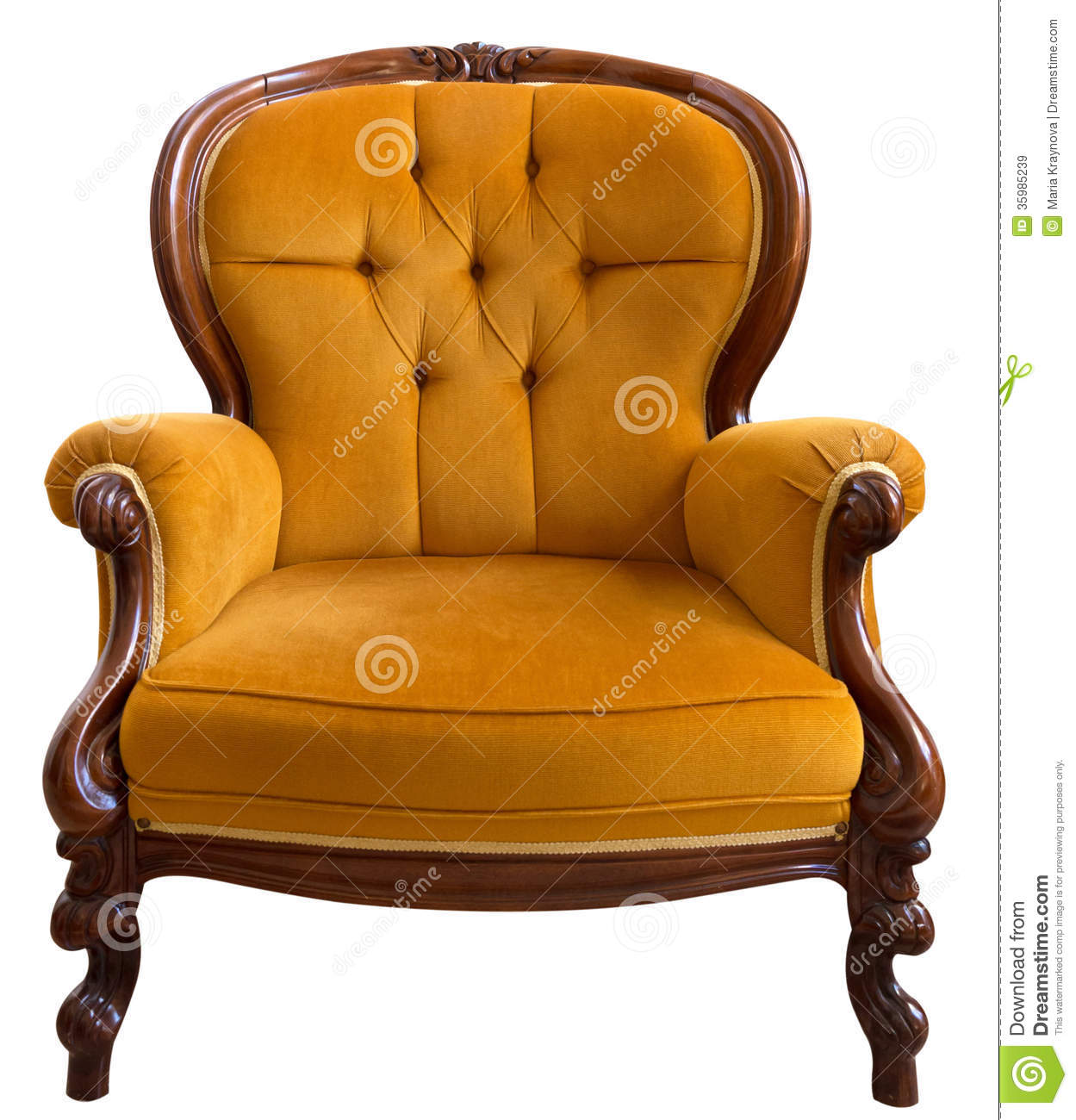 Vintage Armchair Royalty Free Stock Images Image 35985239