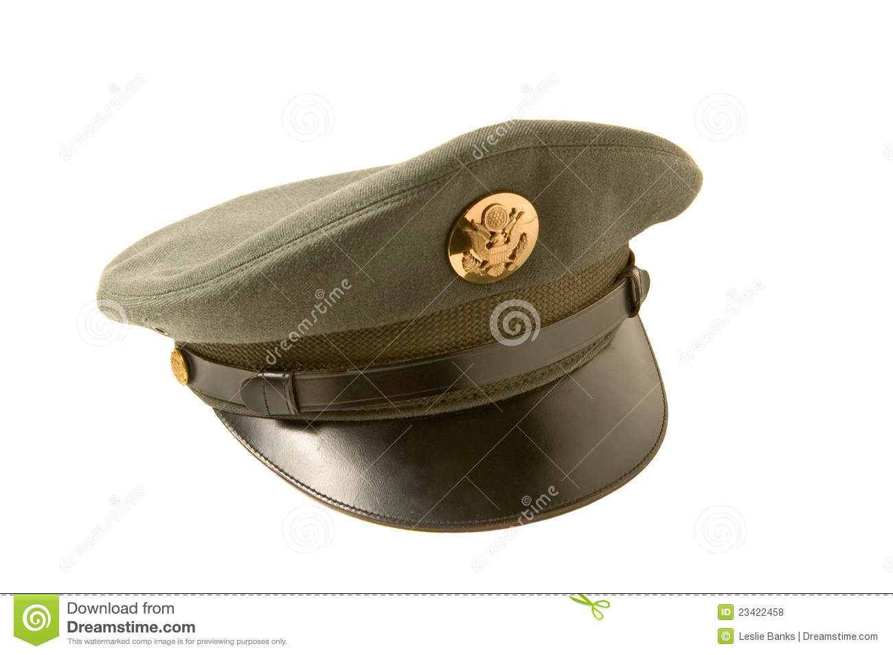 35c5d47a0846a0 Vintage army cap stock photo. Image of white, military - 23422458