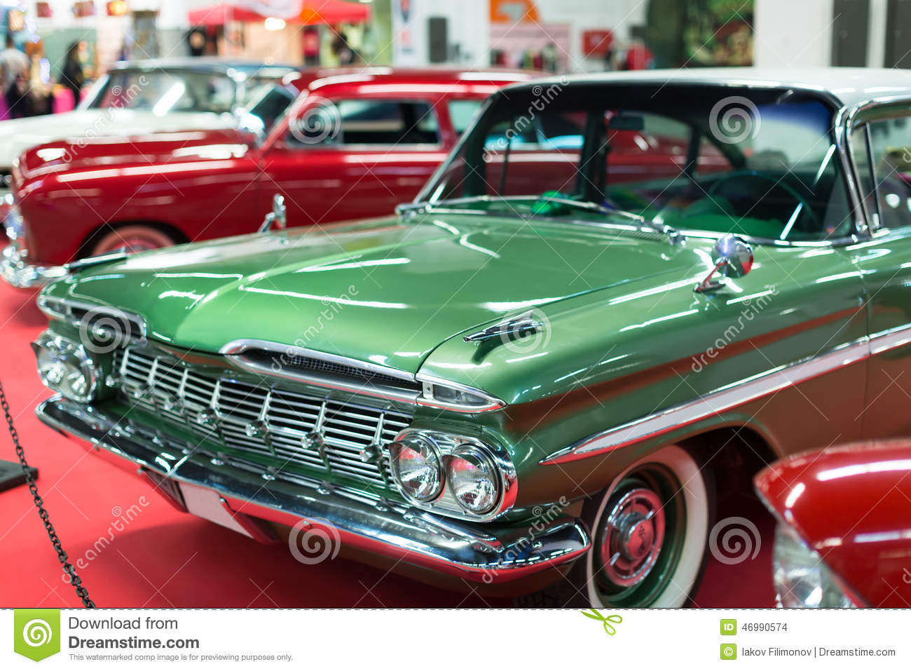 Vintage automobiles stock photo. Image of transportation - 46990574