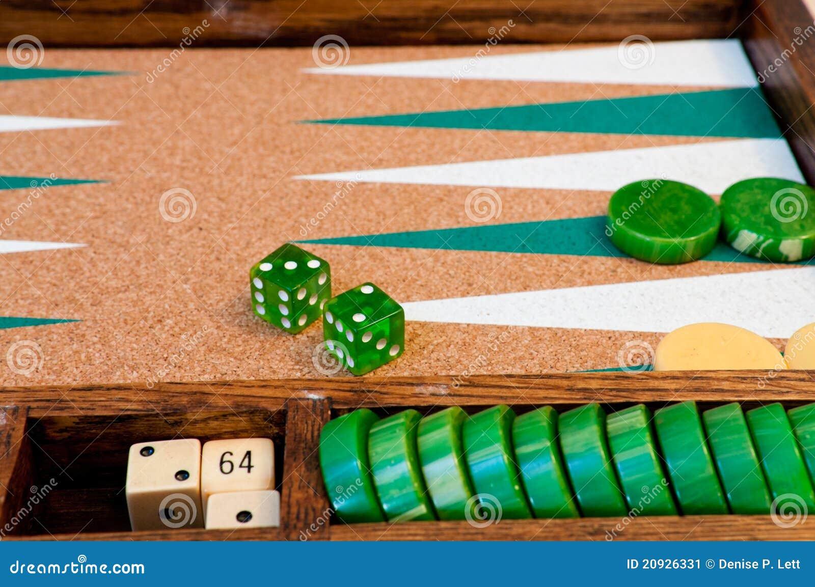 Vintage Backgammon Board Detail Stock Image Image 20926331