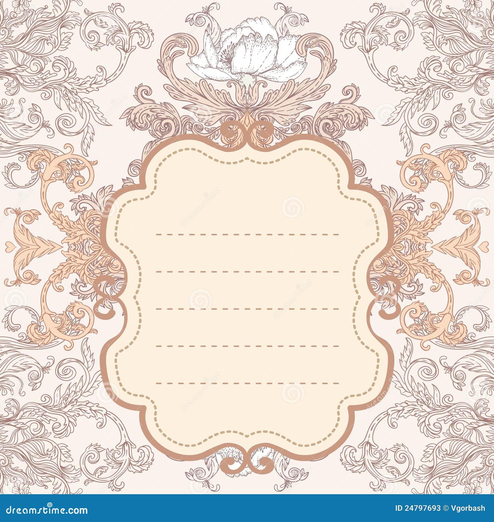 rose gold vintage wallpaper