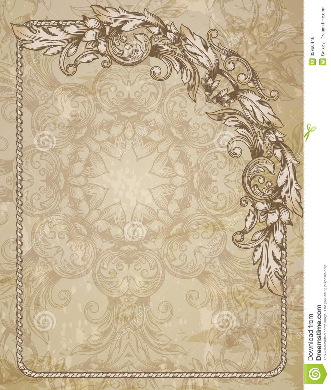 Vintage Background Stock Vector Illustration Of Backdrop
