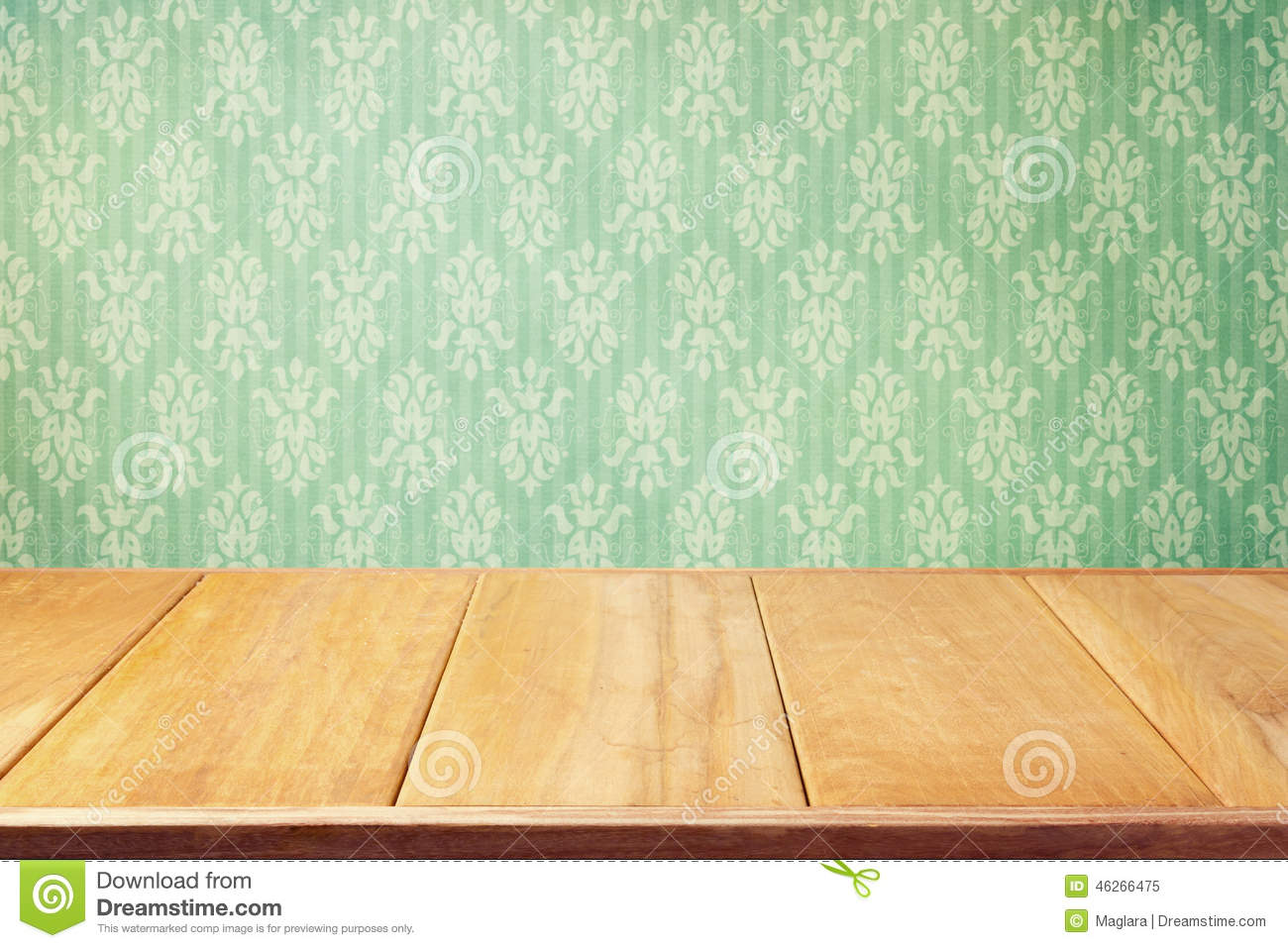 Vintage Background With Classic Wallpaper
