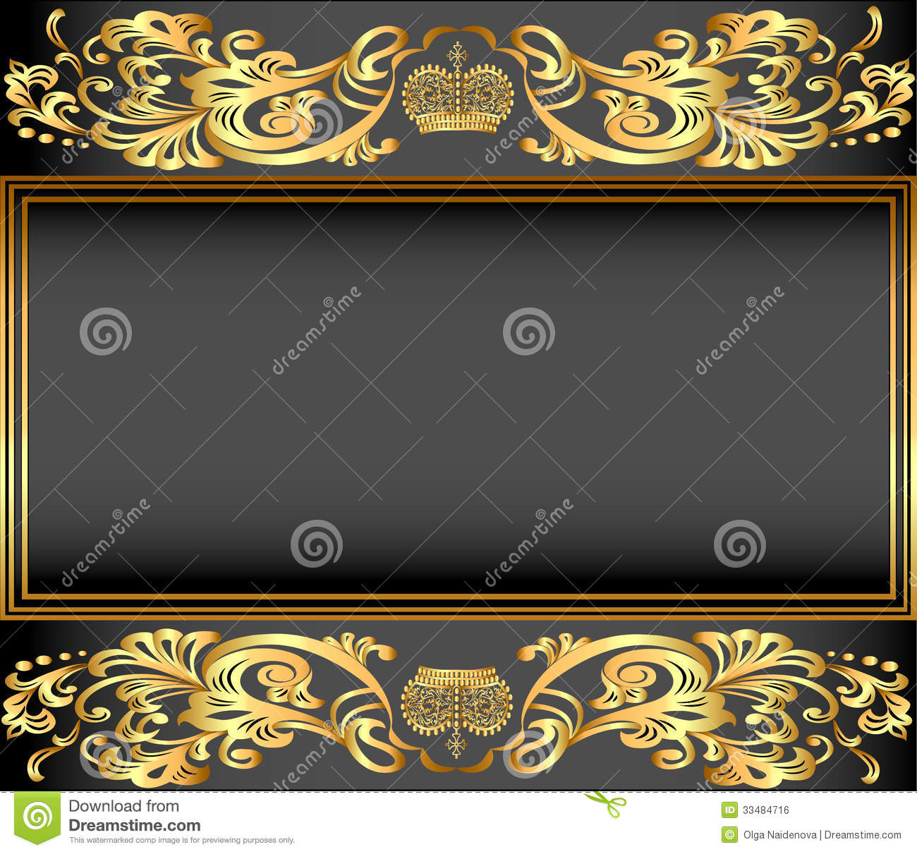 Gold crown background - photo#44