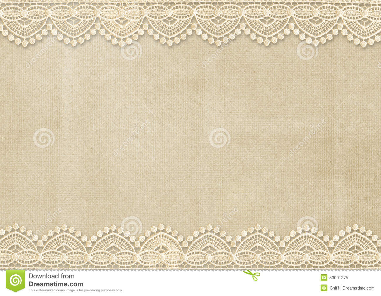 Book Cover Page Background ~ Vintage background with gorgeous lace stock illustration